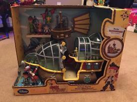 Disney Deluxe Bucky Pirate Ship Playset (BNIB)