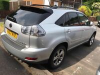 Lexus RX 400h 3.3 SE CVT 5dr and Honda civic 2.2i