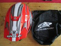 motorcross helmet