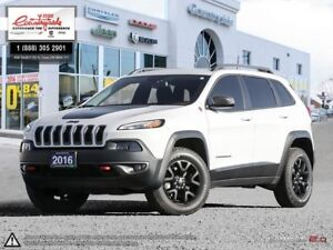2016 Jeep Cherokee Trailhawk V6 | 4X4 | LOCAL TRADE | TOUCH SCRE