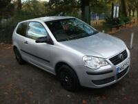 VOLKSWAGEN POLO 1.2 E 64 3dr LOW INSURANCE AND LOW TAX BAND ++ 2 KEYS ++ LEICESTER POLO 2007