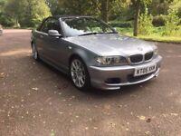BMW 320 2.2 CI M Sport 2005 3 Series Convertible ***Low Miles 12 Months Mot***