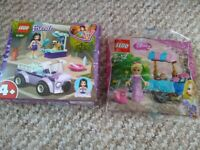 New Lego Friends 41360 Boxed Emma's mobile vet clinic + Free Disney Lego packet WILL POST