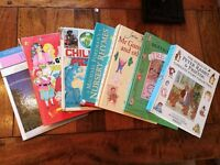 Beatrice Potter Complete Story Collection, Various Big Books. Atlas and Weather Book for Kids