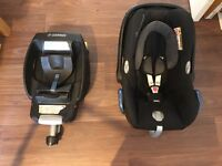 Maxi-Cosi Cabriofix Car Seat and EasyFix Base