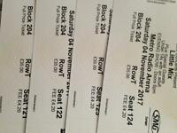 Little mix tickets x4