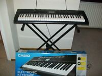 Casio CTK-1100 Electronic Keyboard With Stand