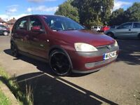 Vauxhall Corsa**Automatic**Warranted Low Milleage**Long MOT**3 Former keepers