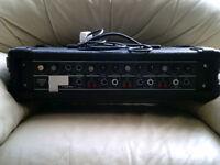 Torque 100 Watt P.A.System,3 Channels.+2 Speakers.