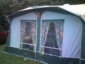 full caravan awning + annex