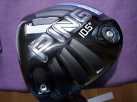 Ping G30 Gents Left Hand driver (price reduced) sensible offers considered