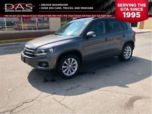 2015 Volkswagen Tiguan AWD COMFORTLINE LEATHER/PANORAMIC SUNROOF
