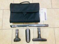 Dyson Vacuum Cleaning Kit Four Attachment Tools, with Bag in excellent condition