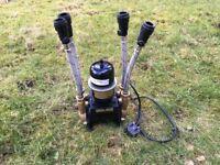 Salamander shower pump, ctforce15tu, near mint condition