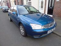 Ford Mondeo 1.8 LX 5dr Good, reliable runabout