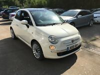 Fiat 500 Lounge - full leather interior - 12 months MOT - full service history