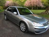 55 2005 FORD MONDEO LX TDCI 130. 6 SPEED, CRUISE CONTROL, SERVICE HISTORY, LONG MOT