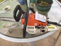 Chainsaw spare repair