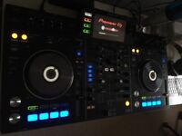 Pioneer xdr-rx controller mixing decks