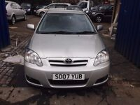 Toyota Corolla 1.4 VVT-i Colour Collection 5dr Guranteed low Millage SD07 YUB