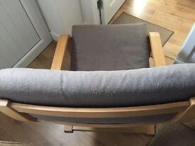 2 ikea arm chair