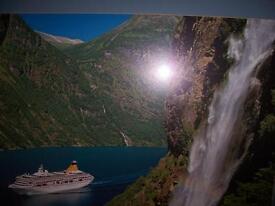 Framed Photo Of A Ship