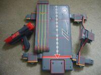 Old Captain scarlet cloud base toy. Ray Gun
