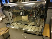 Expobar G10 2 group traditional coffee machine,stainless steel.
