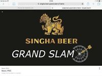 Singha Beer Grand Slam Of Darts