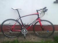 Specialised triple road bike (new front derailleur needed) 58cm/xl- offers welcome