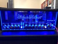 Hughes and Kettner Grandmeister 36 Guitar Amp with accessories