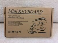 Mini Keyboard KYBAC595-USB-BLK Black