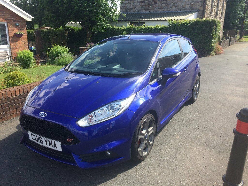 2016 fiesta st owners manual