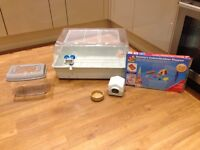 Hamster Cage, Play Pen and accesories