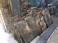 Grey slates, approx half ton. £150 ONO.