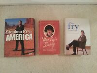 Stephen Fry Books, all in excellent as new condition