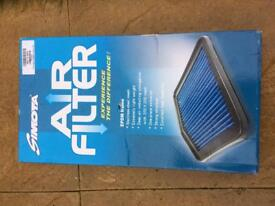 Vauxhall Astra mk4 from 1999 - 2004 air filter