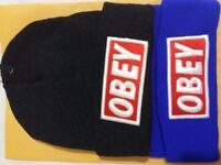 Beanie Cap unisex obey NEW Without tag