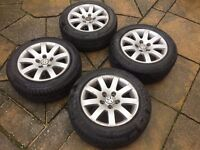 "VW PASSAT B5 B5.5 15"" ALLOY WHEEL 5x112 195/60/R15"