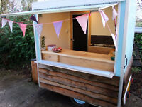 Catering trailer in attractive rustic design New Price £3950