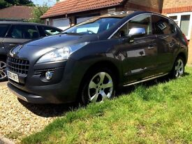 2010 PEUGEOT 3008 EXCLUSIVE, Top Of The Range With Extra's Factory Fitted