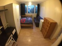 ***2 SPACIOUS DOUBLE ROOM FOR SINGLE PERSON-ALL INCLUSIVE***