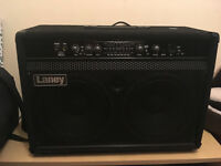 Bass Amp Combo for sale. LaneyRB7 300W, kickback