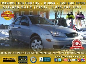 2007 Ford Focus SE-SOLD AS IS-$50/Wk-Pwr Lcks-Keyless-CD/Mp3-Low