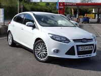 2014 64 Ford Focus Zetec 1.6 CDTi Navigator, SatNav, Bluetooth, 15,000 Miles, One Owner,Ford Warra..