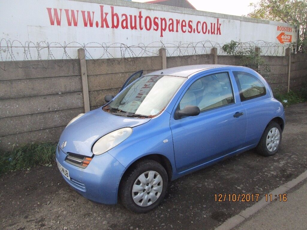 Nissan Micra 2003 1.2 Petrol breaking for spares Wheel Nut.