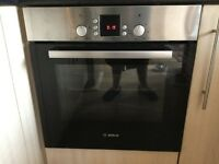 Bosch intergrated oven only 15 months old