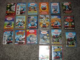 THOMAS AND FRIENDS DVDS 20 DVDS