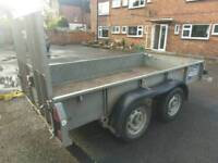 Ifor Williams 10x5ft trailer car plant twin axel
