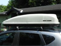 Roof Box Hire from £32 weekly ,£5 daily,Roof Bar Hire for cars with raised roof rails]